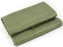 Мешки зеленые 100 шт.