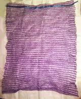 Сетки для овощей 40 кг (10 шт.) Фиолетовые