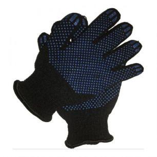 Перчатки полушерстяные двойные (5 пар)