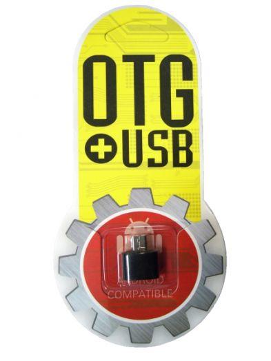 Переходник OTG Орбита BS-519 (microUSB - USB)
