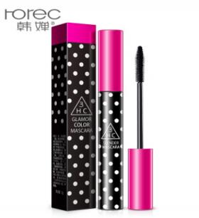 Объемная подкручивающая тушь Rorec 3HC Glamour Color Mascara от «BIOAQUA»(0468)