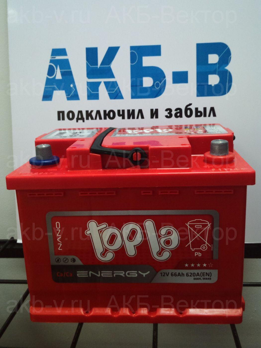 Topla Energy 66Ач 620А(EN)