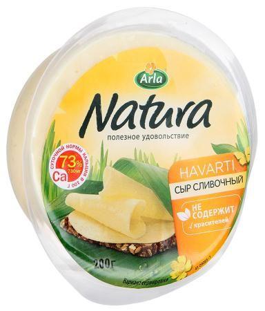 Сыр Натура сливочный 45% 200г