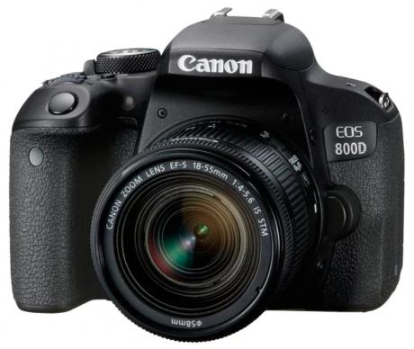 Зеркальный фотоаппарат Canon EOS 800D Kit 18-55 is STM