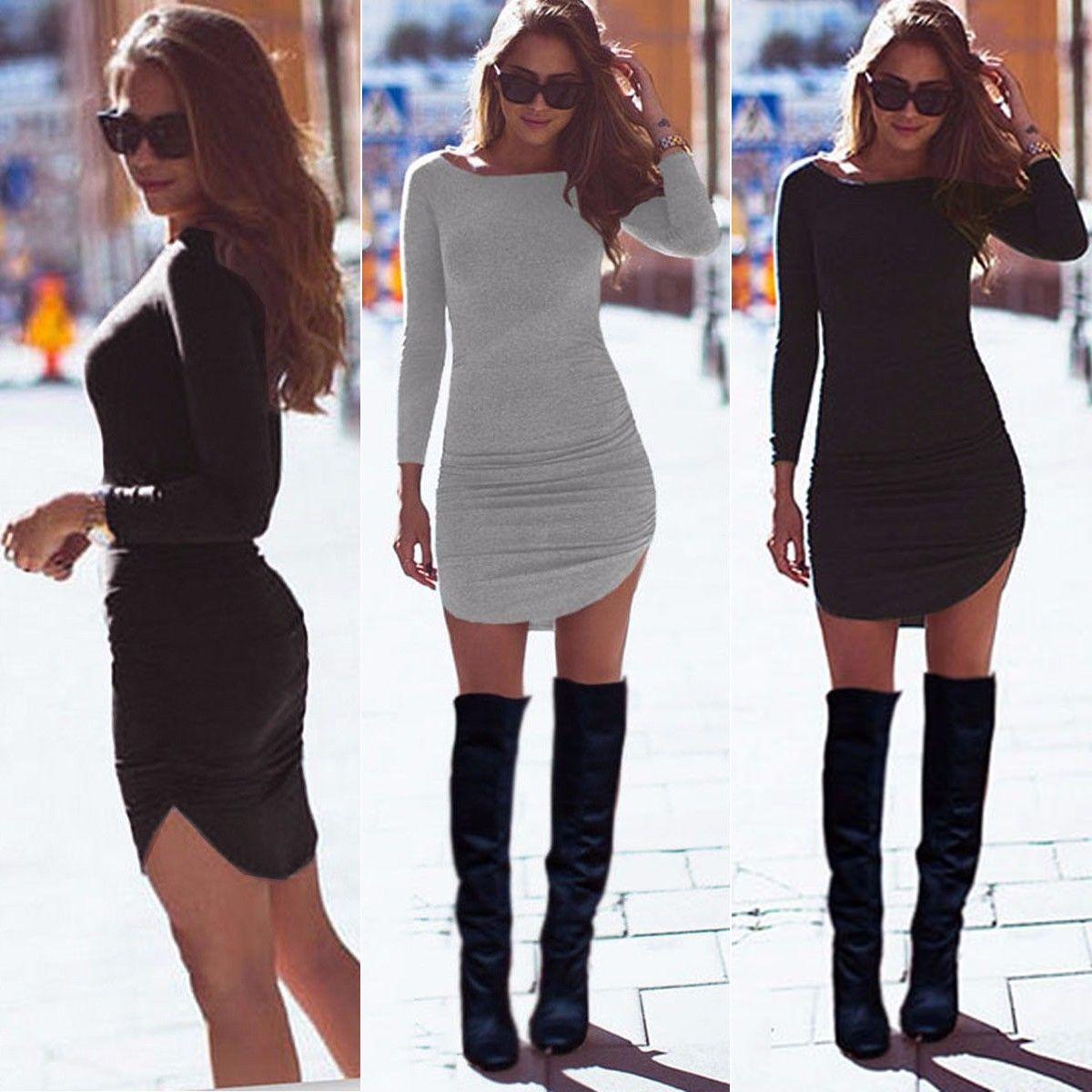 Платье Выше Колена С Чем Носить
