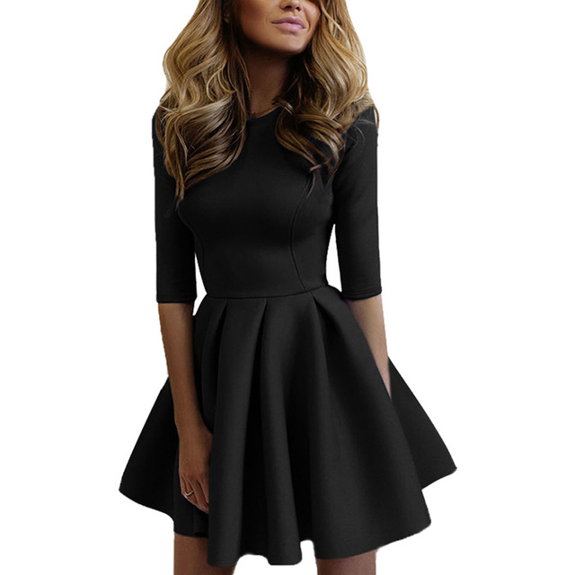 Красивые Короткие Платья С Длинным Рукавом