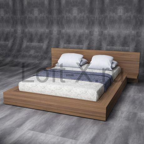 """Кровать двуспальная """"Walnut"""""""