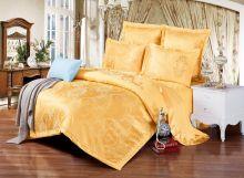 Комплект постельного белья Сатин-жаккард с вышивкой евро  Арт.J033/39