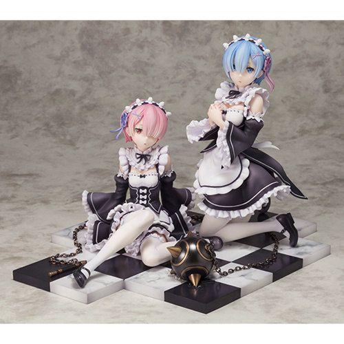 Фигурки Ram & Rem Dengeki Special Set