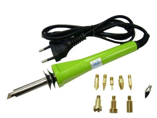 Паяльник электрический с набором насадок BL-117A-9