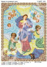 Богородица Развязывающая Узлы. А3 (набор 1300 рублей) ЮМА-3202
