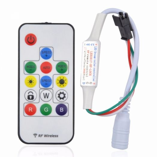 Регулятор цвета для RGB LED ленты Огонёк LD-02