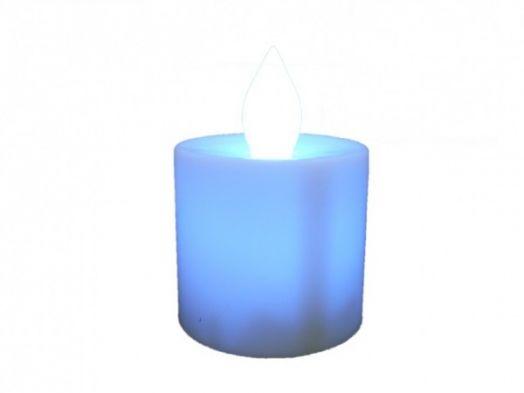 Cвеча LED Огонёк LD-115 (синий)