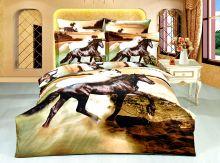 Комплект постельного белья Сатин  3D эффект семейный  Арт.KE244/49