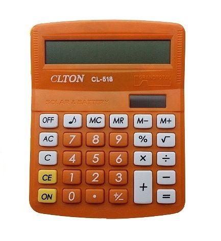 Калькулятор CLTON CL-518 (8 разр.) настольный