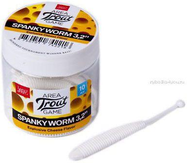Мягкие приманки Lucky John Spanky Worm 3,2'' #026 (10шт в уп)