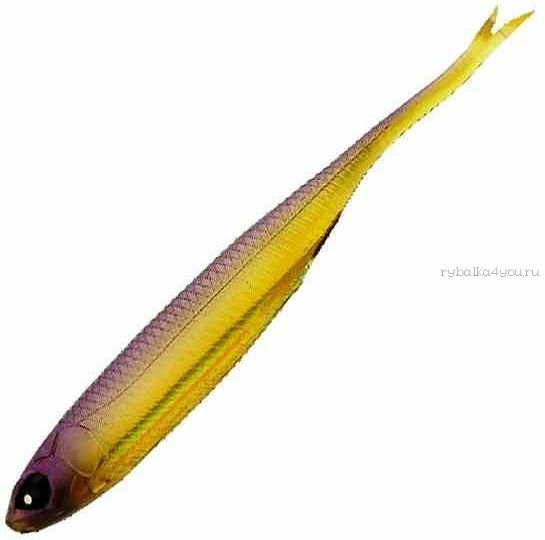 Купить Мягкие приманки Lucky John Makora Split Tail 4'' #004 (6шт в уп)