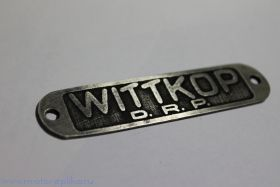 Табличка Wittkopp состаренная