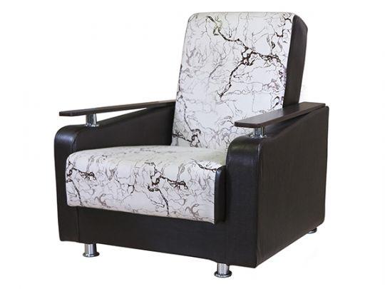 """Кресло для отдыха """"Мелодия ДП 1"""" замша белая"""
