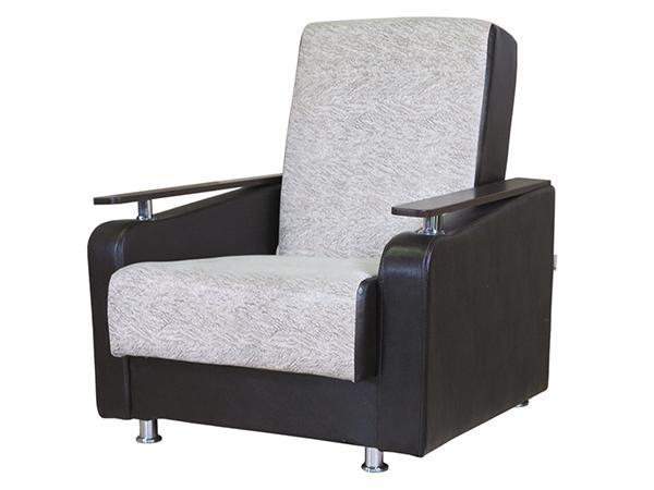 "Кресло для отдыха ""Мелодия ДП 1"" замша беж"