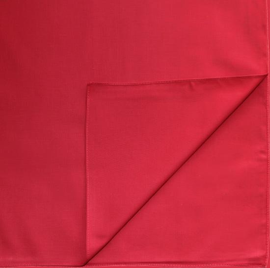 Однотонная бандана (красная)