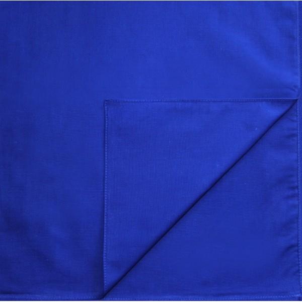 Однотонная бандана (синяя)