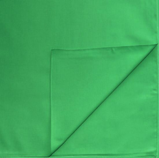 Однотонная бандана (зеленая)