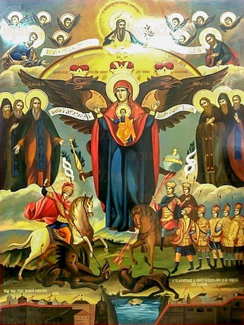 Икона Азовская икона Божией Матери