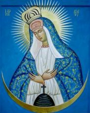 Икона Остробрамская икона Божией Матери