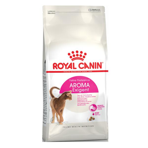 Корм сухой Royal Canin Exigent Aromatic Attraction для кошек с рыбой 4кг