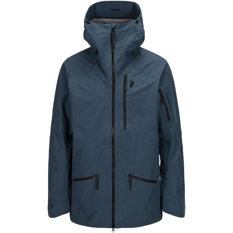 Peak Performance Radical 3L Jacket blue steel