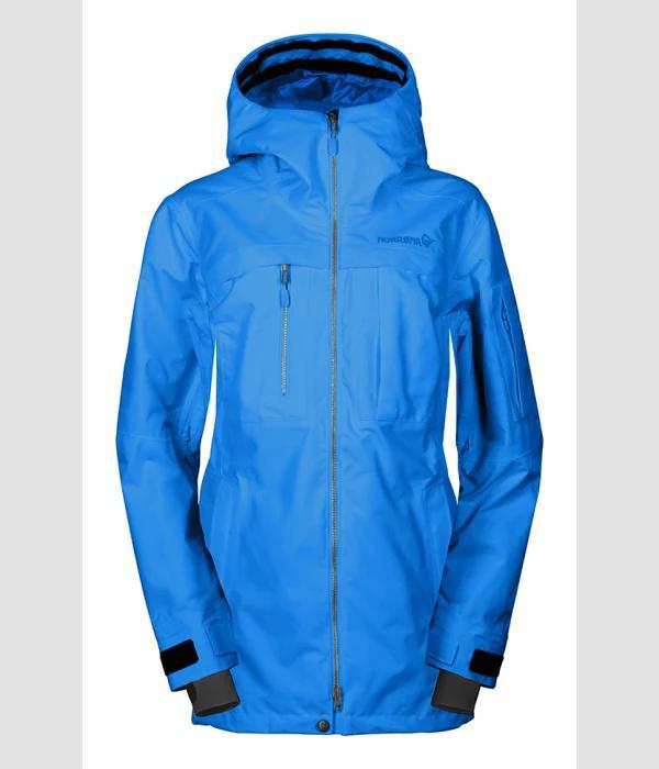 Norrona Roldal Gore-Tex PrimaLoft Jacket Women HOT SAPPHIRE BLUE