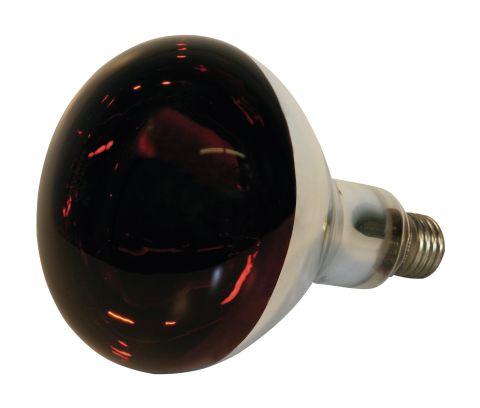 Инфракрасная лампа из закаленного стекла, 150 Ватт - красная. Kerbl