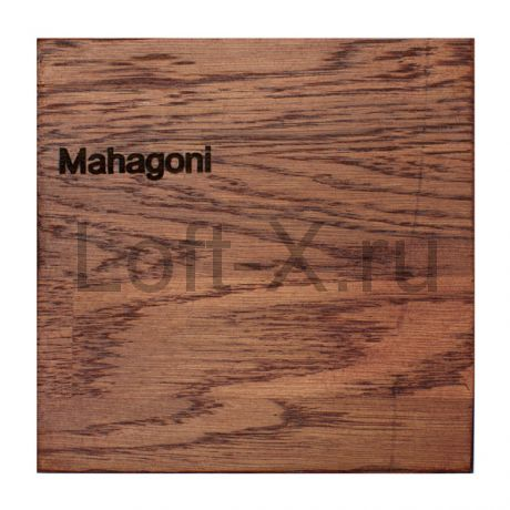 Тонировка дуба - цвет Mahagoni