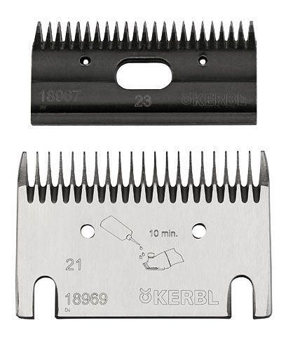 Запасные ножи для машинки для стрижки 21/23 Constanta 4. Kerbl