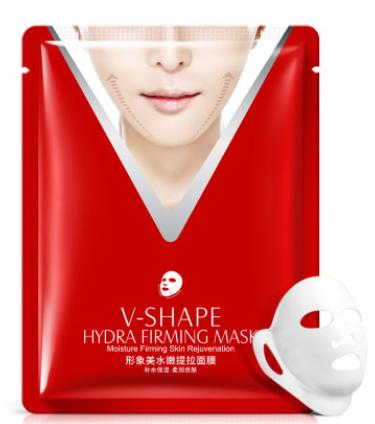 Маска для упругости и подтяжки овала лица Images V-Shape Hydra Firming Mask от «BIOAQUA»(7574)