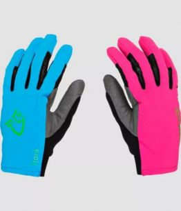 Norrona fjørå flex1 Gloves pink blue