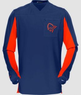 Norrona Fjora Equaliser Long Sleeve MTB OCEAN SWELL BLUE M