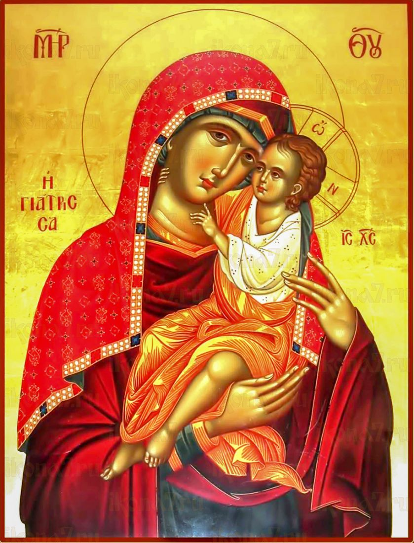 Целительница икона Божией Матери