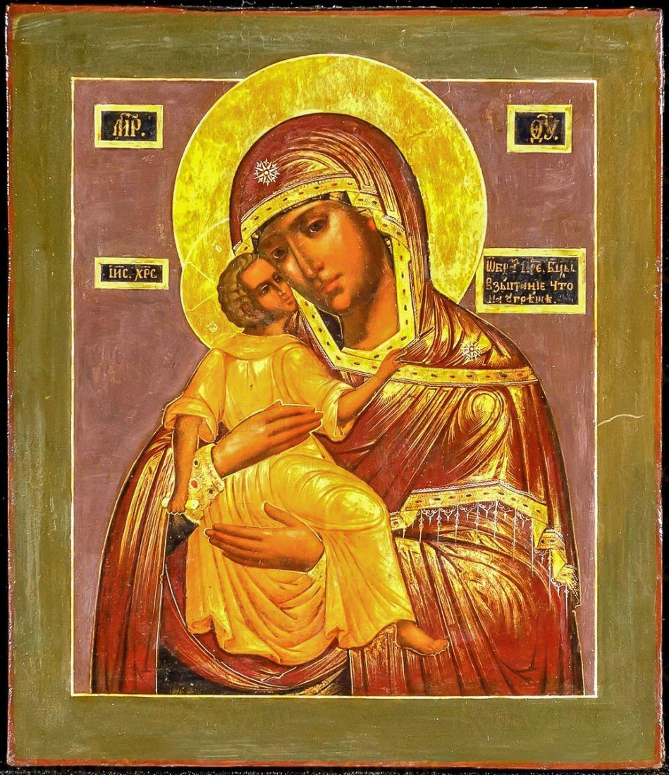 Взыграние Младенца икона Божией Матери