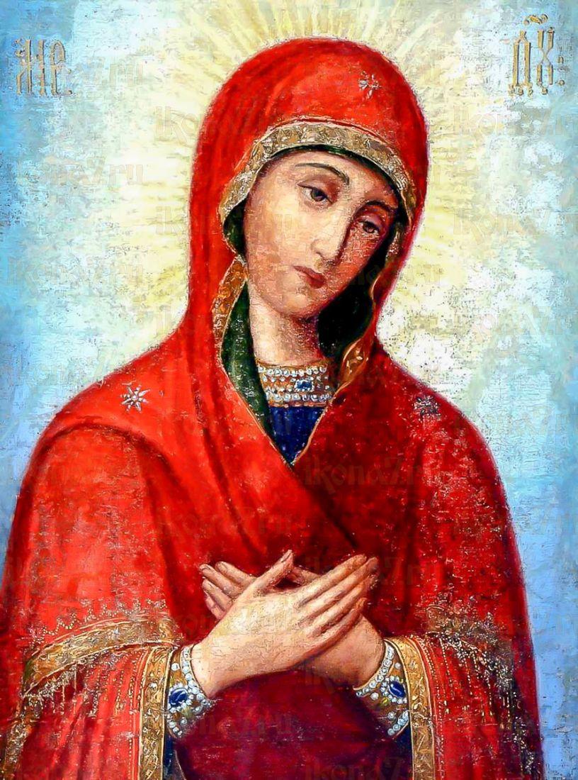 Икона Скорбящая икона Божией Матери