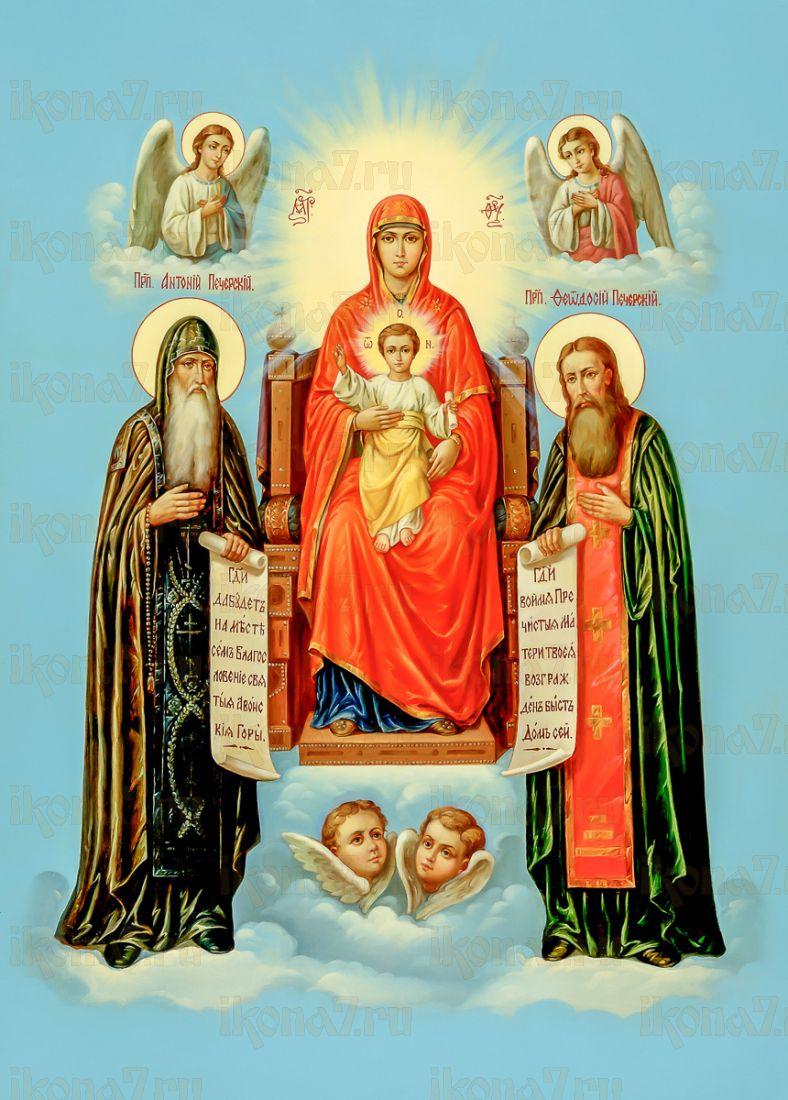 Свенская-Печерская (икона на дереве)