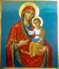 Икона Гербовецкая икона Божией Матери