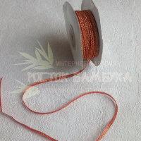 Лента парча 0,3 см (30 м)