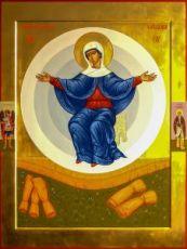 Спорительница хлебов икона Божией Матери