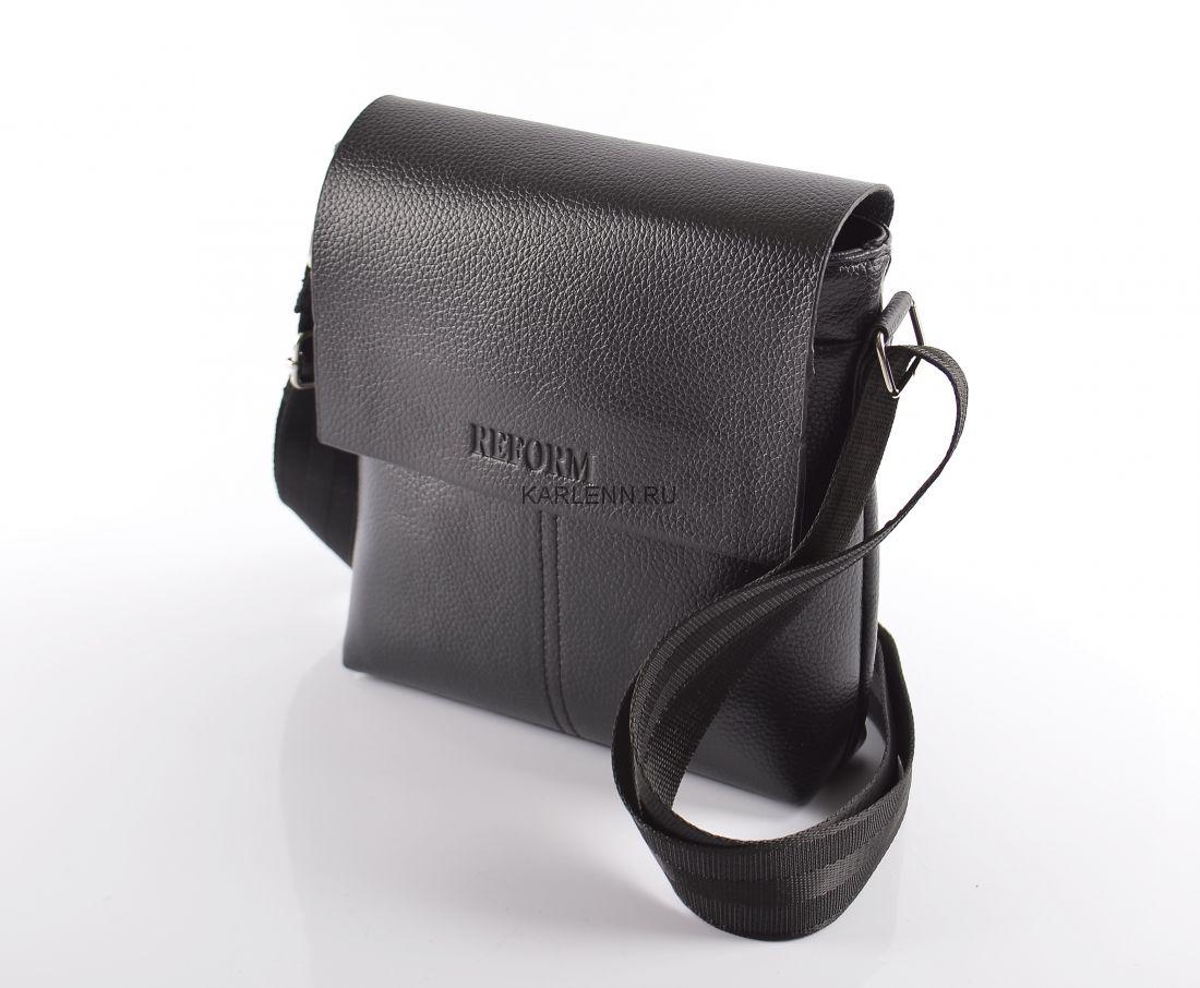 Мужская сумка Reform (7684-1 черная)