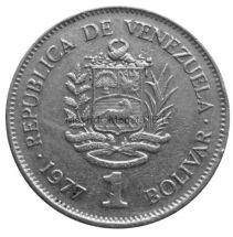 Венесуэла 1 боливар 1977 г.