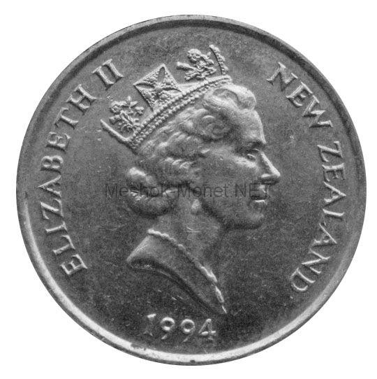 Новая Зеландия 5 центов 1994 г.