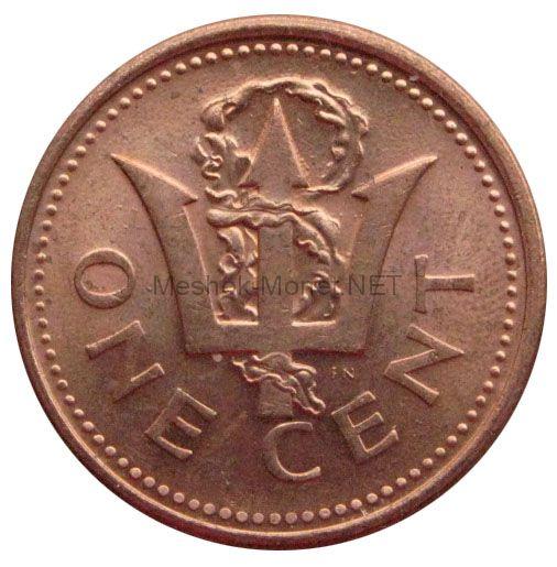 Барбадос 1 цент 2012 г.