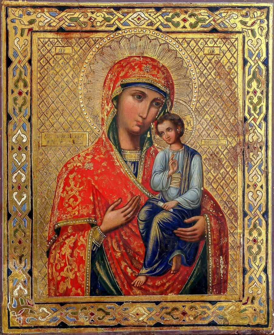 Святогорская икона Божией Матери